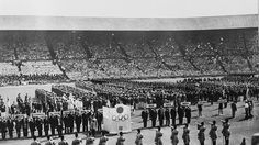 Then and now: London 1948 and London 2012 #Olympics Olympics
