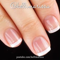Französische maniküre designs Classics never go out of style! Wedding Ideas For Brides: 5 Ways To Ca Nail Lacquer, Nail Polish, Nail Manicure, Manicure Ideas, Disney Manicure, Manicure At Home, Gel Nail, Uv Gel, Classy Nails