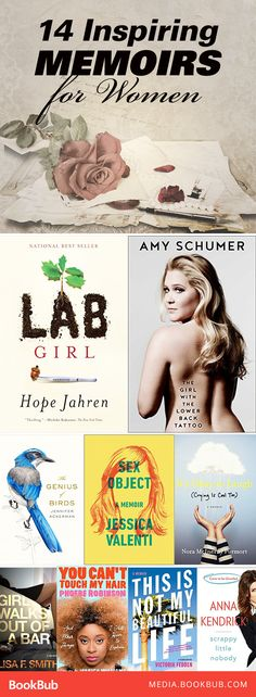 14 great nonfiction books for women. These inspirational memoirs are worth a read!