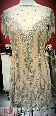 Hot-cha! Whoopee! And all that jazz. This dress is a cute little beaded dress that would be perfect in the finale of Chicago! #TDFCC #KeepingUpWithTheCostumes #1920s