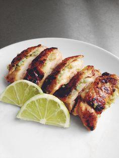 Garlic lime crispy chicken. I'm going to add cilantro. Paleo, AIP