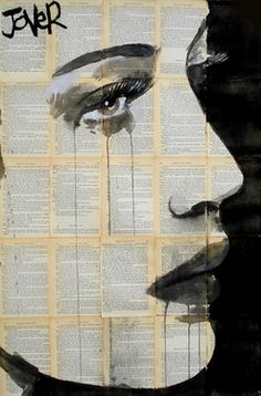 "Saatchi Online Artist Loui Jover; Drawing, ""of the heart"" #art"