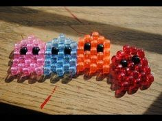 How to make a kandi flower ring Pony Bead Patterns, Kandi Patterns, Peyote Patterns, Beading Patterns, Stitch Patterns, Diy Kandi Bracelets, Pony Bead Bracelets, Pony Beads, Pony Bead Projects