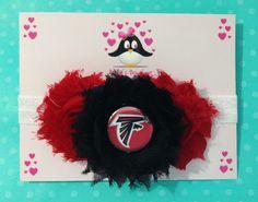 Atlanta Falcons headband football headband baby by AnisasBowtique, $12.00