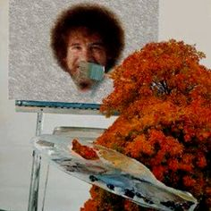 Haha! Trees cover up a multitude of sins. If you are too young to know Bob Ross, you are missing out.