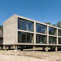 Hotel Eb en Vloed, De Baak Management Centrum | OTH Architecten BV