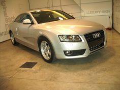 Audi A5 bianco spazzolato: prima della lavorazione