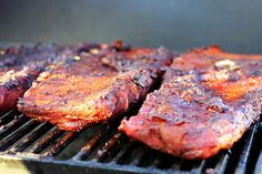 [My friend Molly made the most amazing ribs on Memorial Day. Prior to Monday, I thought I liked mopped, or barbecue sauced-up ribs. I am now officially a dry rub convert, and begged her to let us k…