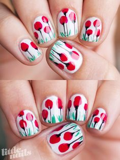 Flowers | Little Nails