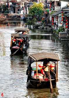 Water cities which can be great weekend trips for interns whilst in Beijing.
