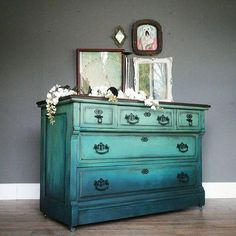 *SOLD* This one sold before I had a chance to post! I still wanted to show off it's sweet handles and paint job! -Tara #modernvintage… #diyfurnitureideas