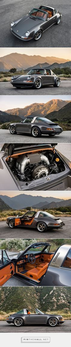 """Singer Porsche 911 Targa – We love Singer. Frankly, in case you're a Porsche man, or only a automobile man, and have seen any of the Porsche which have been restored and """"reimagined""""[. Porsche 911 Targa, Porsche Autos, Porsche 2017, Porsche Carrera, Singer Porsche, Singer 911, Dream Cars, My Dream Car, Retro Cars"""