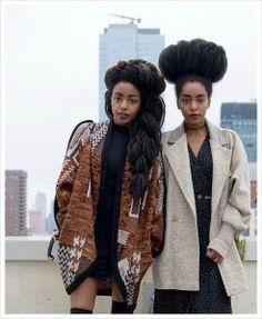Meet The Quann Sisters: Revolutionizing African Fashion Black Power, Black Girl Magic, Black Girls, Black Is Beautiful, Beautiful People, Quann Sisters, Cipriana Quann, Tk Wonder, Style Noir