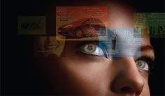 Contact lenses that feed you information  right before your eyes. We are slowly becoming Cyborgs! and its awesome!
