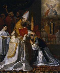 Ordination and First Mass of Saint John of Matha - Vincenzo Carducci, Museo del Prado