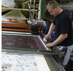 Ivo Prints London Textile & Wall Paper Printers