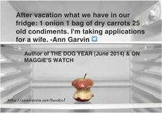 Author of The Dog Year (a novel)
