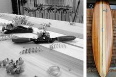 Sliver Paddleboards - 10' hollow wood paddle board.  www.sliverpaddleboards.com