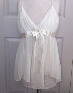 Vintage WEDDING NIGHT NEGLIGEE  by Only Hearts 1990s by vintagous on Etsy