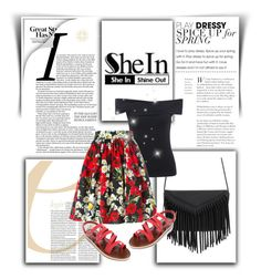 """""""SheIn 7/II"""" by nermina-okanovic ❤ liked on Polyvore featuring Dolce&Gabbana and shein"""