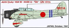 BII-214 was flown by a wingman of carrier IJN Hiryu.  This plane was shot down over Pearl Harbor