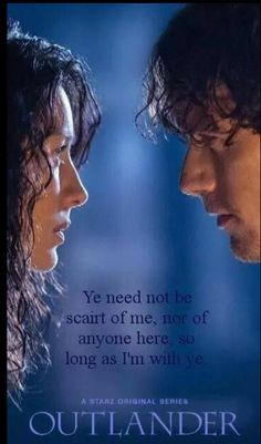 Jamie and Claire -Outlander