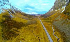 Mountain roads with DJIPhantom and GoPro