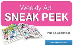 Walgreens Ad Sneak Peek For 10/12/2014-10/18/2014  Discover this week's deals, savings and bonus buys at your local Walgreens. Keep on saving with Paperless Coupons Now you can save even more with coupons that clip straight to your Balance® Rewards card.