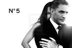 tom hardy fan pics | Tom Hardy and Megan Fox for CHANEL No5 by myrmorko