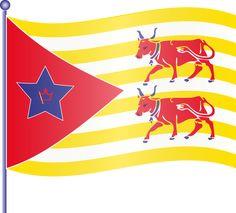 Laàs : un drapeau...