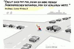 """""""Und wenn sie ihn #gefunden hat, ruft sie ihre #Freundinnen und #Nachbarinnen und spricht: #Freut euch mit mir; denn ich habe meinen #Silbergroschen #gefunden, den ich #verloren hatte. """"#Lukas 15,9 #glaubensimpulse"""