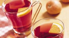 Partner apple cider with cranberry juice for a new flavor twist on a popular hot drink.