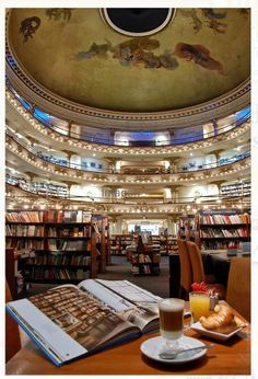 "El Ateneo Grand Splendid is one of the best known bookshops in Buenos Aires, Argentina...  ...""With Love, The Argentina Family~ Memories of Tango and Kugel; Mate with Knishes"" - Available on Amazon."