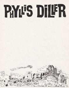 Phyllis Diller stationery, 1984. #Letterheady