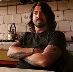 Dave Grohl I would love to make you tea Dave. Stop by for a cup.