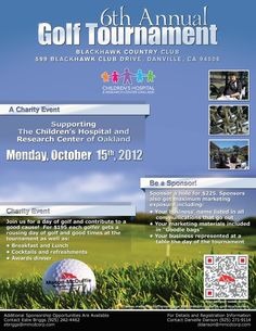 Golf Tournament Flyer  Design Inspiration    Golf