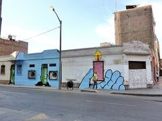 Graffiti in Lima, Peru Peru, Graffiti, Mansions, House Styles, Inspiration, Home Decor, Lima Peru, Art, Pictures