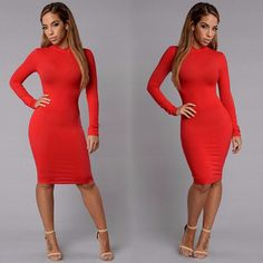 "❤️RESTOCK ALERT❤️ Search: ""Pamela Dress"" Available in Black, Grey, and Red $24.99 ✨www.FashionNova.com✨"
