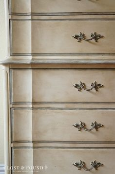 Dixie Chest on Chest Makeover - Lost  Found