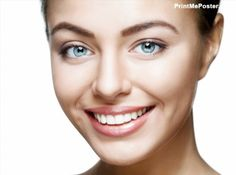 Beautiful woman face Poster Perfect toothy smile Poster Caucasian young girl close up portrait Poster Isolated on white background Poster Studio shot Poster happy positive girl Poster Poster. Crew Cut Hair, Men's Crew Cut, Best Dentist, Dentist In, Dental Posters, Care For All, Close Up Portraits, Studio Shoot, Orthodontics