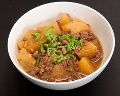 The Guy's Two-Step Nikujaga (Japanese meat and potatoes)