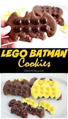 Check out these fun LEGO Batman cookies, it's all about easy decorating to get the LEGO Batman look. Fun for LEGO Batman party or for the LEGO Batman movie. Pear And Almond Cake, Almond Cakes, Dessert Simple, Lego Batman Party, Superhero Party, Batman Birthday, Lego Birthday, Batman Food, Birthday Boys