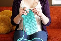 How to Knit Straight (In The Round) ⋆ Kyla Roma