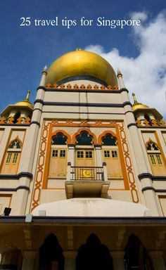 Masjid Sultan, Singapore's largest and most impressive mosque, is located in Kampong Glam, near Arab Street and Bugis | 10 Amazing Ways to Explore Singapore (Free eBook).