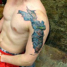 Florida Map Tattoos.38 Best Florida Tattoo Designs Images Florida Tattoos State