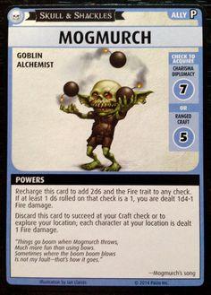 "Pathfinder Adventure Card Game: Skull & Shackles – ""Mogmurch"" Promo Card"