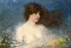 The Athenaeum - A Spring Idyll (George Henry Boughton, 1901)