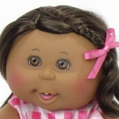 Cabbage Patch Kid - Brown, will have one for my kid ♡ Xavier Roberts, Cabbages, Cabbage Patch Kids, Brown Brown, Toy Store, Little People, My Childhood, Cool Girl, Ethnic