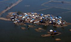This week, climate change researchers were able to attribute recent examples of extreme weather to the effects of human activity on the planet's climate systems for the first time. Photograph: Rizwan Tabassum/AFP/Getty Images