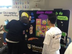 Manchester University College of Pharmacy students and faculty participated at Doctor's Day at Science Central in Fort Wayne!